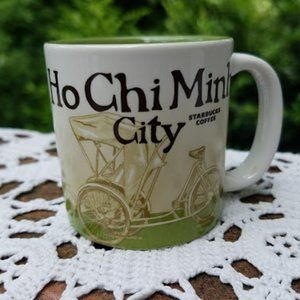 Starbucks Ho Chi Minh Demitasse Collector Coffee